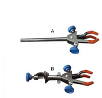 Three Finger Double Adjust Clamp