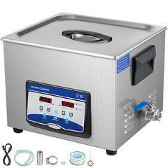 Ultrasonic Cleaner Jewelry Cleaner Ultrasonic Machine 15L/Digital Sonic Cleaner
